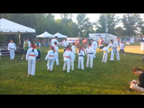 Karate Deomonstration--Relay For LIfe Parsippany NJ