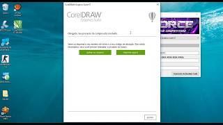 Instalando e COnfigurando o Serial do COREL X7