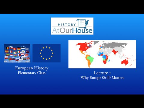 History At Our House - European HIstory (Elementary) Lecture 1