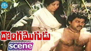 Donga Mogudu Movie - Jayanthi, Chiranjeevi Nice Scene