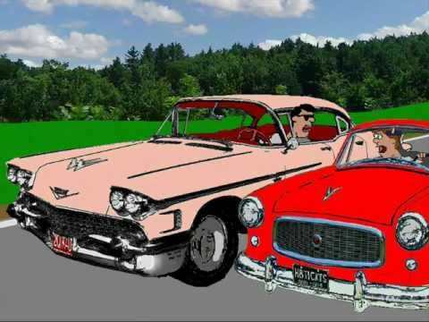 BEEP BEEP ~ THE LITTLE NASH RAMBLER ~ The PLAYMATES ~ ANIMATION