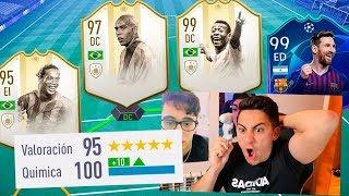 195 RATED!! El MEJOR FUT DRAFT de FIFA 19 *record mundial*