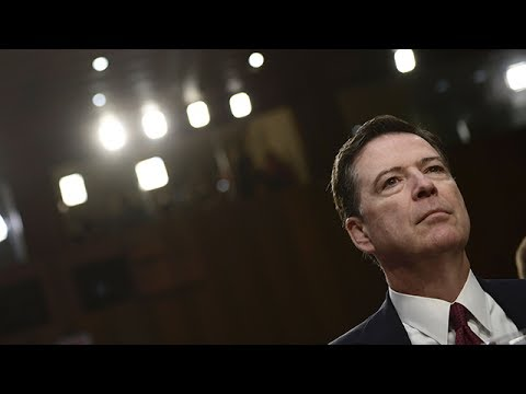 Former FBI director James Comey testifies before Senate - watch live