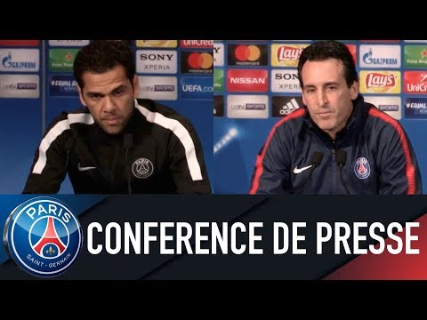 Paris Saint-Germain PRESS CONFERENCE PARIS SAINT-GERMAIN vs REAL MADRID
