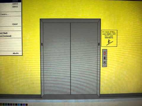 How To Make An Elevator Animation Pts 1 Amp 2 Vertical Rectangle For The Doors Elevator Call