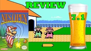 DBPG: NES Open Tournament Golf Review (NES) - Best NES Golf Game!