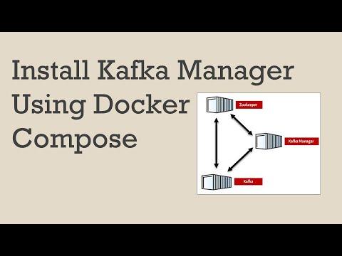 Kafka Manger installation using Docker Compose   Kafka   Docker   Kafka Manager