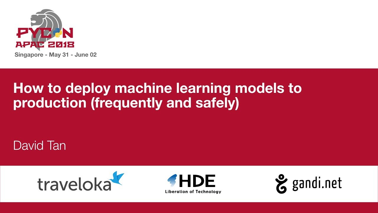 Image from How to deploy machine learning models to production (frequently and safely)