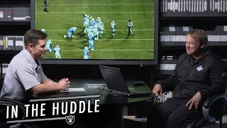 Josh Jacobs & Alec Ingold Stepped Up vs. Chargers | In The Huddle | Raiders
