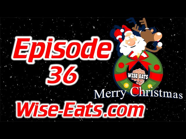 #36: Christmas Special, This Day in Diet History, Healthy Chocolate Chip Cookies