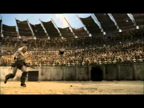 Spartacus Ep 5 #5 - Teocoles Nell'area Contro Crixus E Spartacus