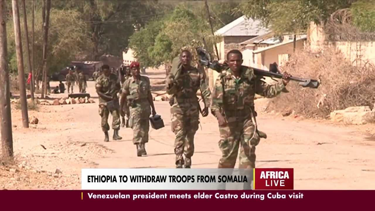 Ethiopia Might Fully Withdraw Forces From Somalia