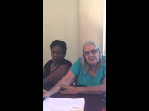 How to create #JustJustice? Talking with Michelle Adams and Aunty Lynda Ryder in Karratha, WA