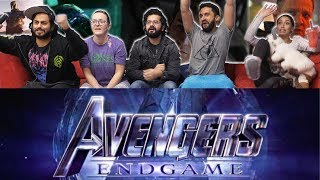 Avengers Endgame Official Trailer (2019) - Group Reaction