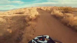 2018 KTM 300 XCW - Desert Terrain - Just having fun