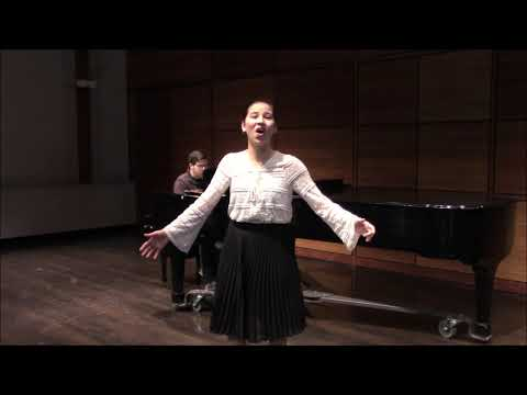 BETHANY YEH (w/ R. Hayes) NSAL-DC Winston Vocal Competition 2020