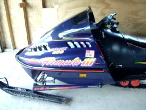 how to start a skidoo