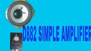 D882 transistör || AV Teknoloji ile mini ses amplifikatör yapmak nasıl