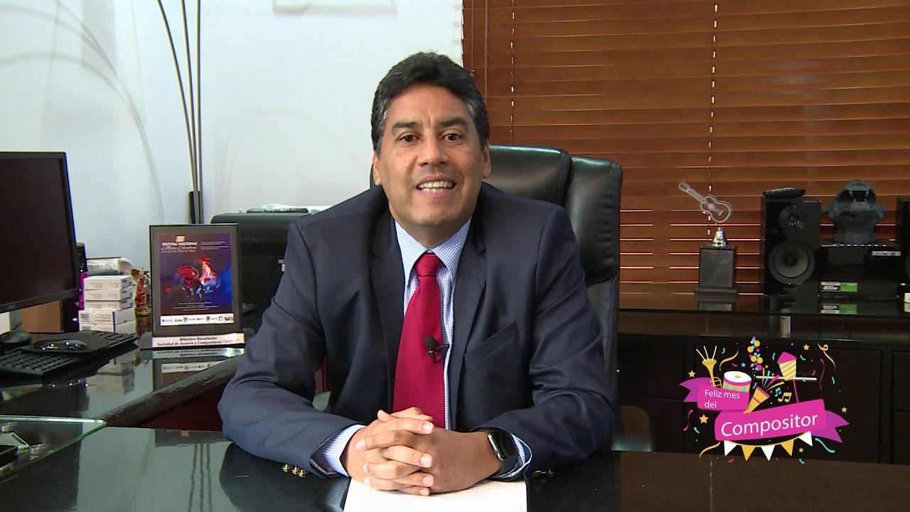 César Ahumada - Gerente General SAYCO - YouTube