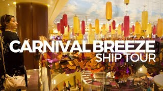 Carnival Breeze Ship Tour | Cabins, Dining & More!