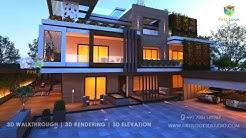 Mr KN Luxury Home 3D Animation Walkthrough @ TP Gudem