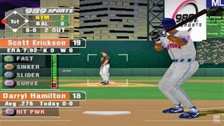 MLB 2002 PS1 Gameplay HD
