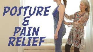 Perfect Posture with Athena Jezik, Part 2, Pain Relief for Low Back, Knees, CranioSacral Alignment