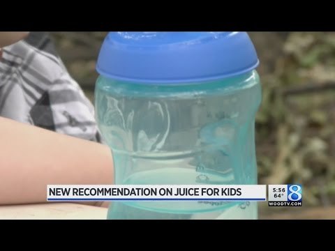 Experts: Don't give juice to children under 1