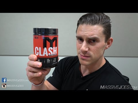 MTS Nutrition CLASH Fully Loaded Pre-Workout Supplement Review MassiveJoes.com Raw Review