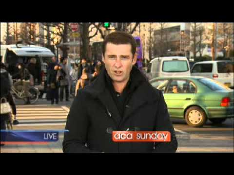 Japan Disaster Report with Peter Stefanovic (Nine ...