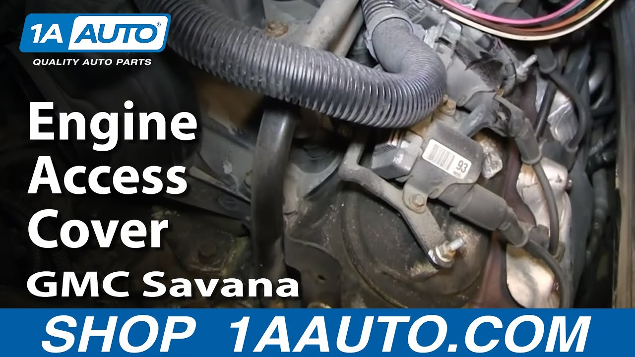 maxresdefault how to move open engine access cover 1997 2013 gmc savana chevy  at bayanpartner.co