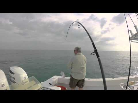 Wreck Fishing in the Florida Keys w/ Capt. Jeff Rella II - SHARKS on Light Tackle + GOLIATH GROUPER