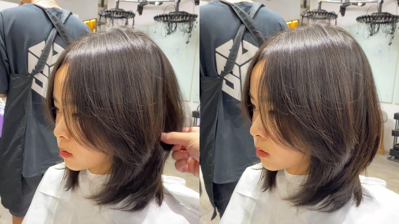 tóc Lỡ layer dành cho mặt tròn   Hướng dẫn Cắt   Tổng hợp những kiểu tóc nữ đẹp mới nhất