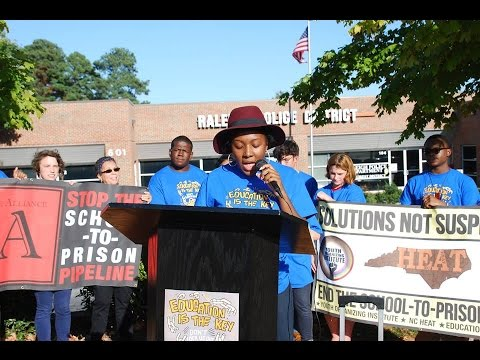 "Press Conference for ""Ending School to Prison Pipeline"" Week of Action"