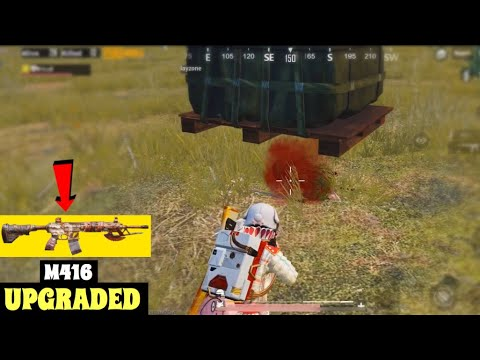 UPGRADED M416 WANDERED GAMEPLAY | PUBG MOBILE | GEORGOPOL LANDING!