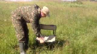 Раскладной туристический стул видео обзор