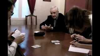 Игра в карты - Мюзикл Мастер и Маргарита 2012 (МММ-2012)