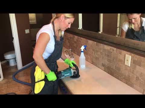 Marble Countertop Polishing Scottsdale, AZ  with Tile Girl