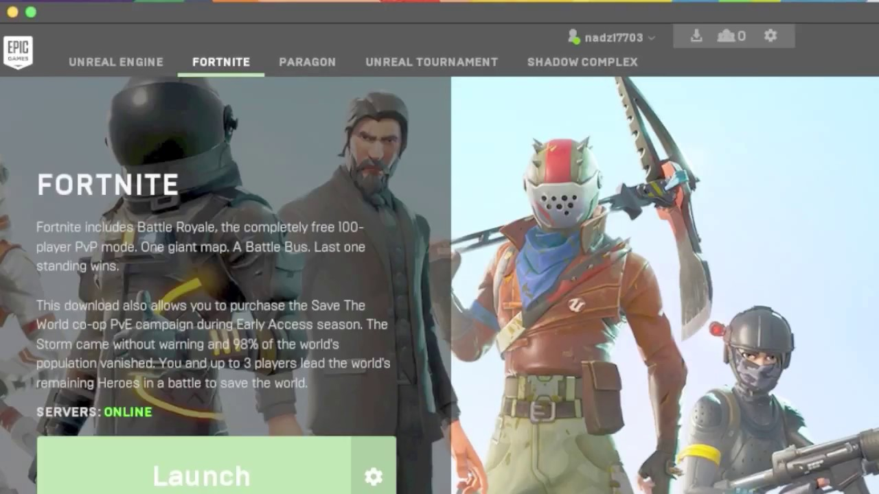 how to launch epic games launcher for fortnite bug fixed 2018 - epic games launcher fortnite free