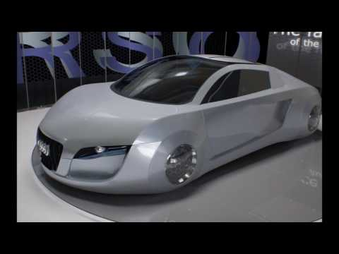 """Audi RSQ   Sporty Coupe for the 2004 """"I- Robot""""   CES Asia 2016"""