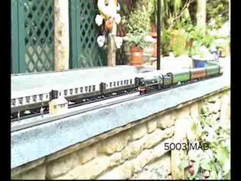 oo gauge Model Railway Merchant Navy Class 35020 Bibby Line