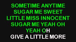 Def Leppard Pour Some Sugar On Me Karaoke