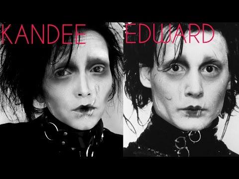 HiSpeed Edward Scissorhands Transformation | Kandee Johnson