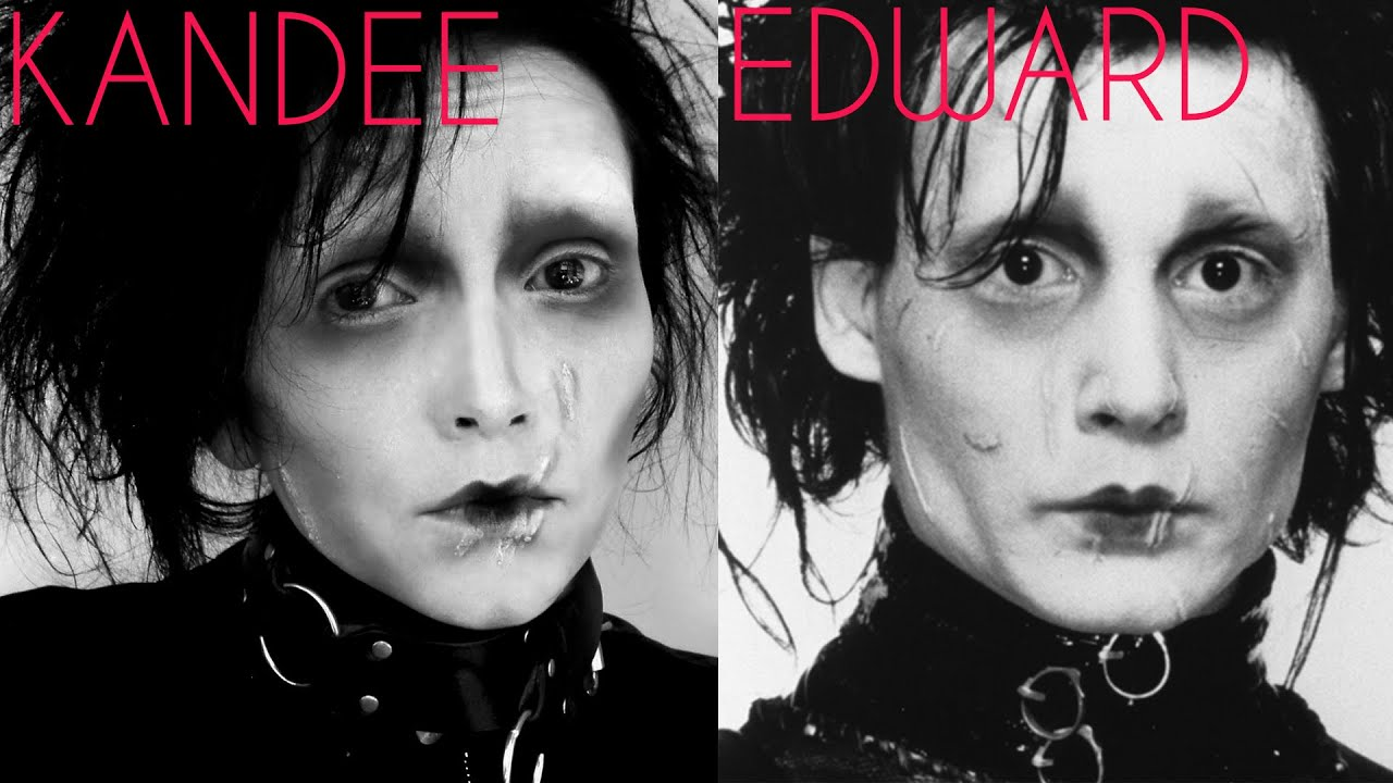 Hi speed edward scissorhands transformation kandee johnson youtube hi speed edward scissorhands transformation kandee johnson baditri Gallery
