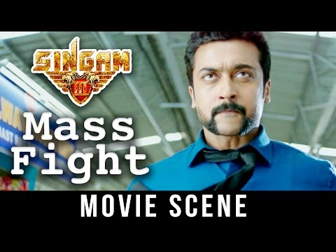 Singam 3 - Best Fight Scene | Suriya |  Anushka Shetty |  Shruti Haasan