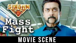 Video Singam 3 - Best Fight Scene | Suriya |  Anushka Shetty |  Shruti Haasan download MP3, 3GP, MP4, WEBM, AVI, FLV Agustus 2018