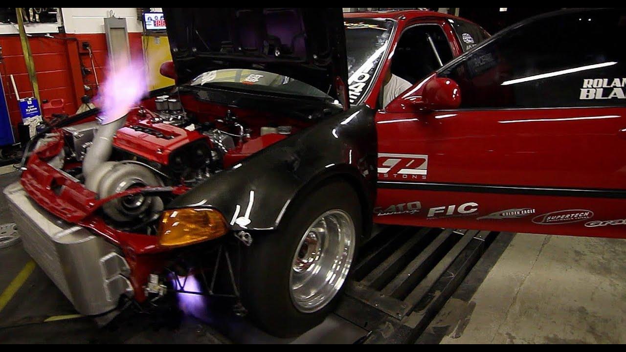 1100hp Turbo Sfwd Civic On The Dyno Carla Racing Doovi