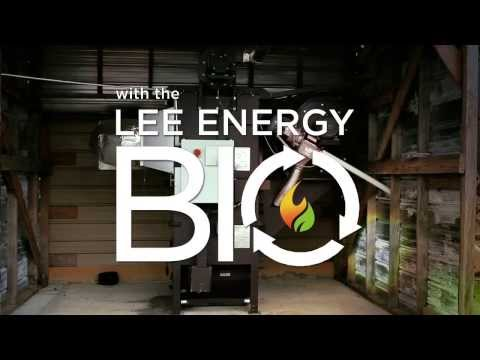 Lee Energy BIO Wood Pellet-Burning Agri-Industrial Furnace