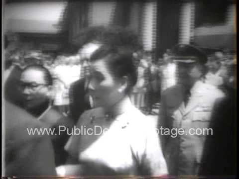 Lt. General Claire Lee Chennault funeral 1958 - newsreel archival footage
