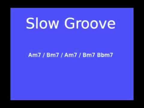 Slow Groove Backing Track in A Dorian